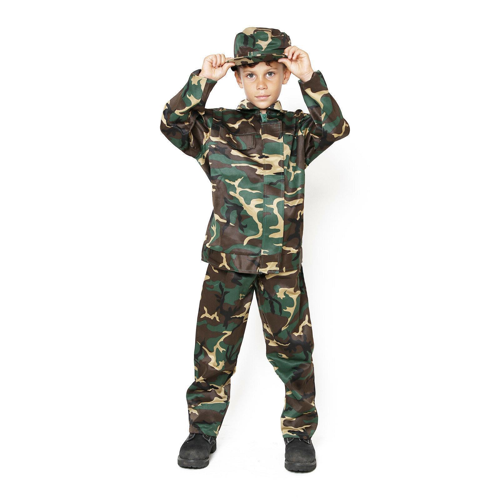 kids childrens boys us army usmc soldier
