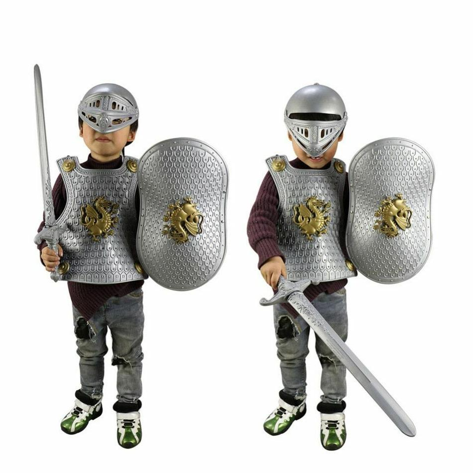 Kids Halloween Special Gladiator Knight Suit