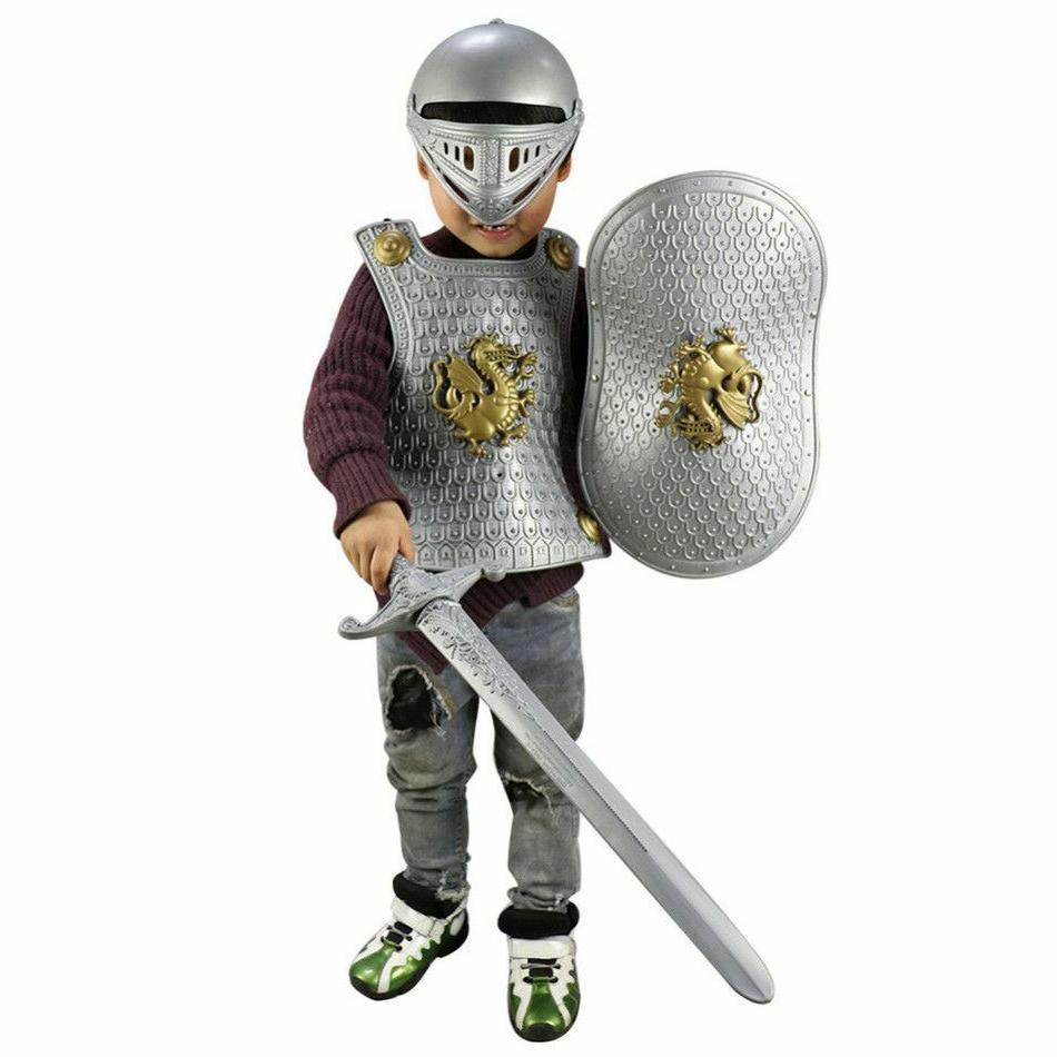 Kids Events Wears Children Boys Gladiator Knight Suit