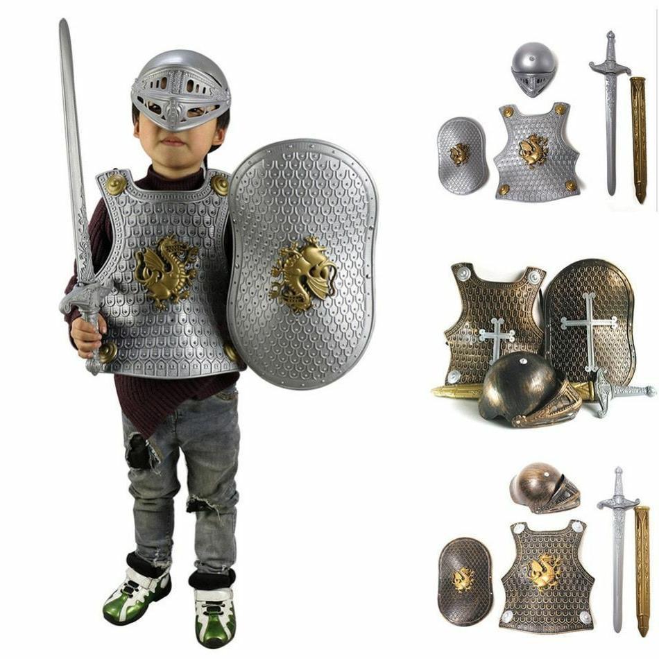 Kids Events Children Boys Gladiator Suit