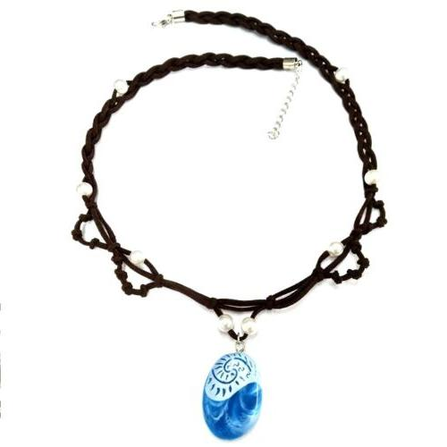 Kids Moana Princess Girls Skirt Necklace Set Girls
