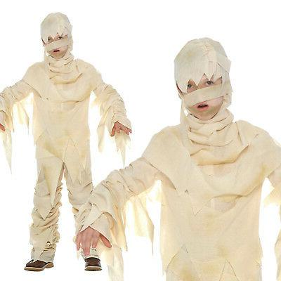 kids egyptian mummy costume for boys or