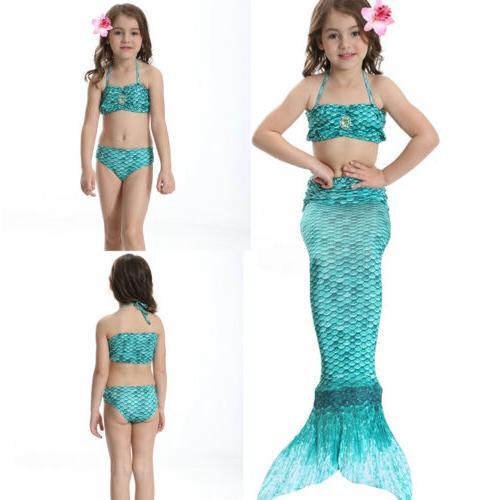 Kids Tail Costume Swimmable Mono Beahwear