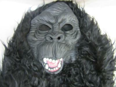 Kids' Gorilla Halloween Black Rubie's XL Large