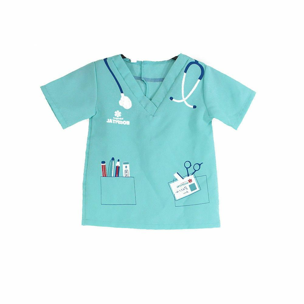 Kids Lab Scientist Fancy Dress Children Boy Girl