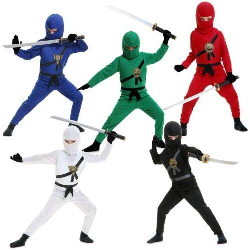Kids Ninja Costume Ninjago Halloween