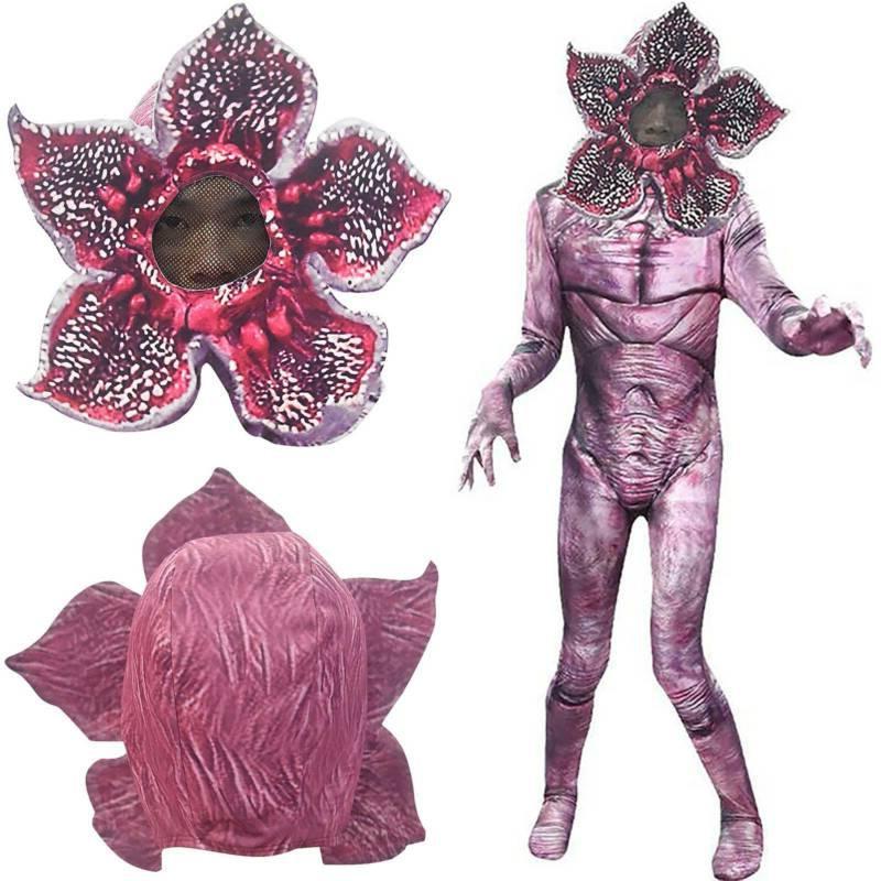kids stranger things demogorgon cosplay costume