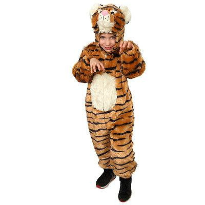 kids striped tiger costume by