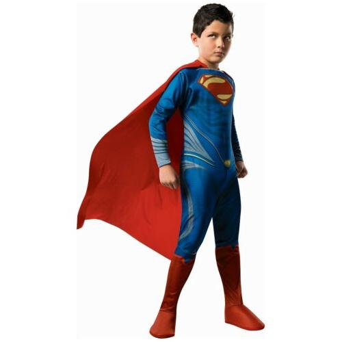 kids superman costume halloween fancy dress