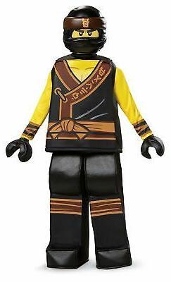 Disguise Lego Ninjago Movie Cole Prestige Kids Costume, Smal