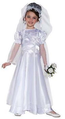 little bride wedding belle child costume dress