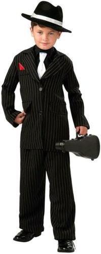 Littlest Gangster Roaring 20's Mafia Mob Fancy Dress Hallowe