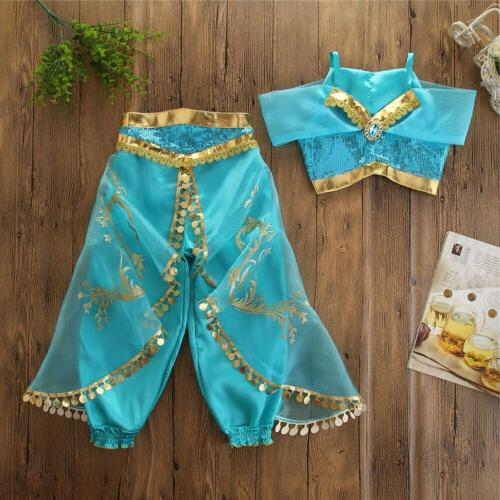 Aladdin Princess Cosplay Baby Kid Girl Fancy Dress Up Sets