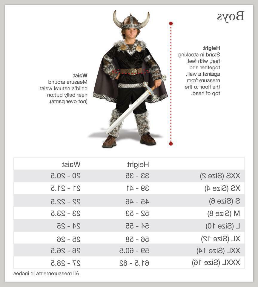 Incharacter Warrior Child Halloween Costume