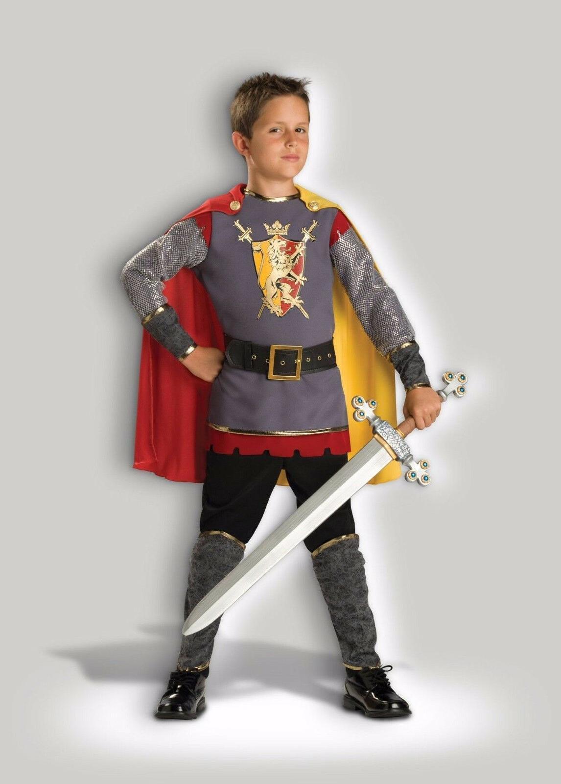 loyal knight medieval warrior child boys halloween