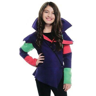 Charades Mal the Little Witch Child Jacket, Purple