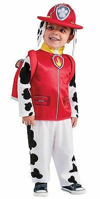 Marshal Paw Patrol Child Boy's Costume - Multiple Sizes Avai