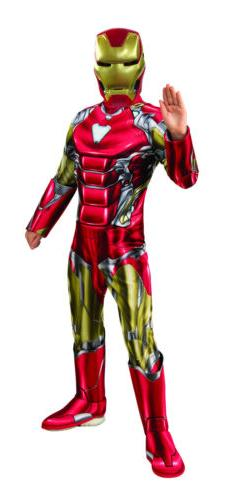 Mens Avengers Endgame Iron Man Deluxe Child Costume - Offici