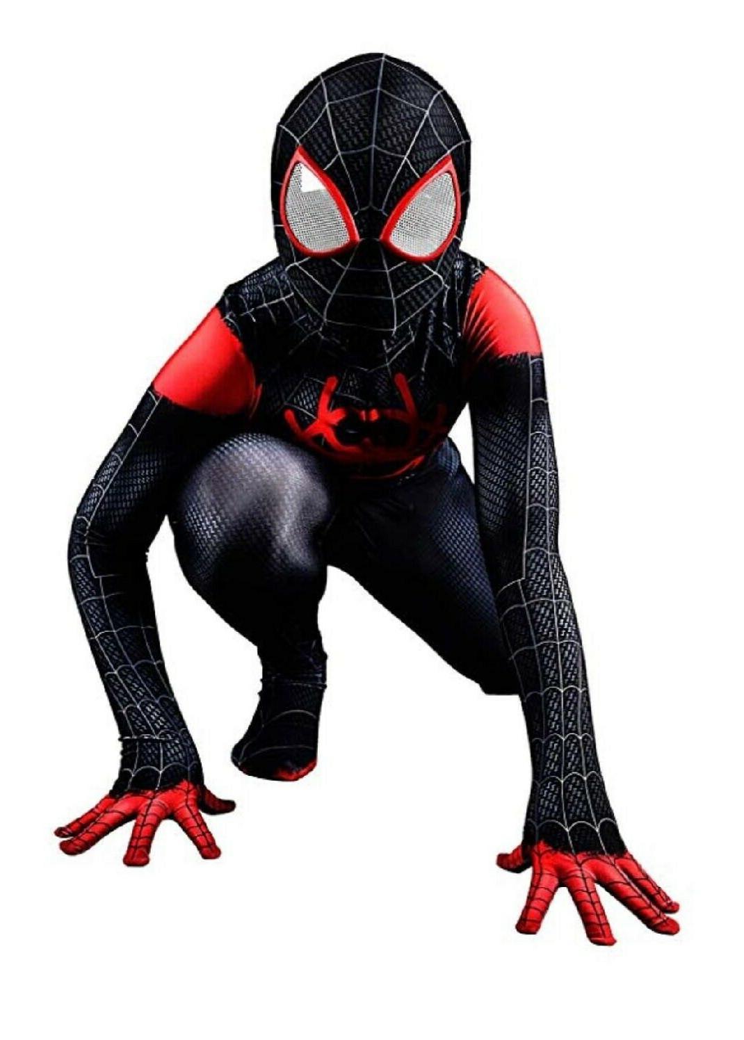 Miles Morales Spider-Man Jumpsuits Bodysuits Unisex Teen
