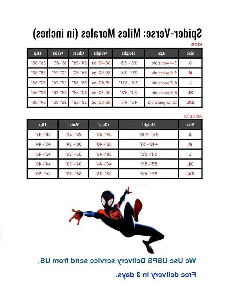 Spider Man Suit Unisex