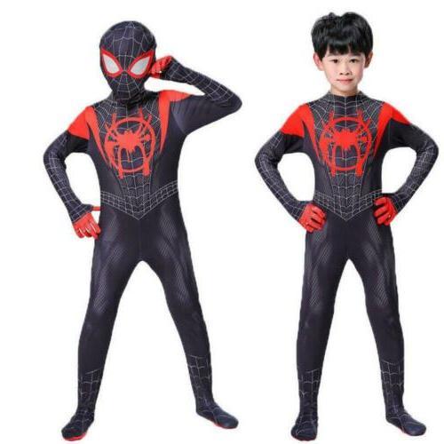 Miles Morales Spider-Verse Costume Suit