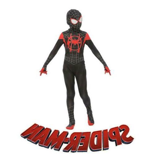 Miles Morales Spider-Verse Costume Cosplay Suit