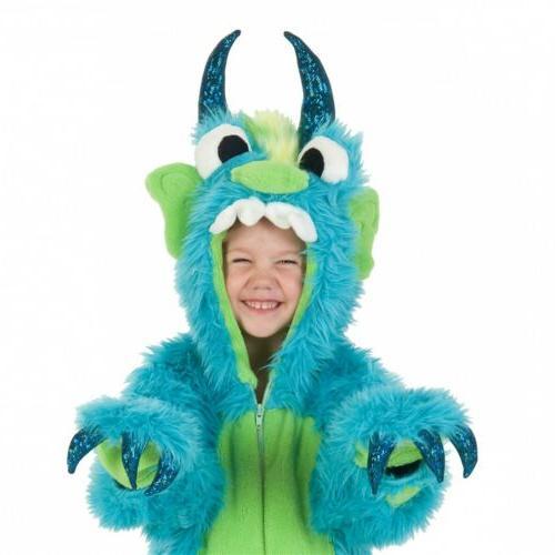 Monster Costume Kids Halloween Dress