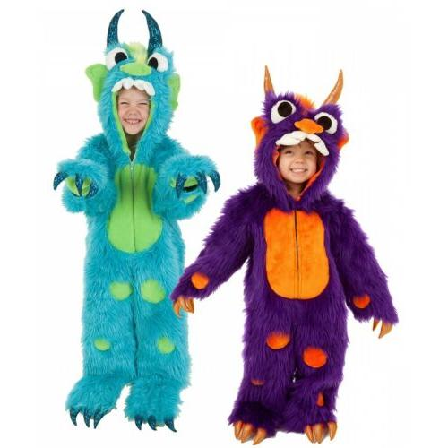 monster costume kids funny halloween fancy dress