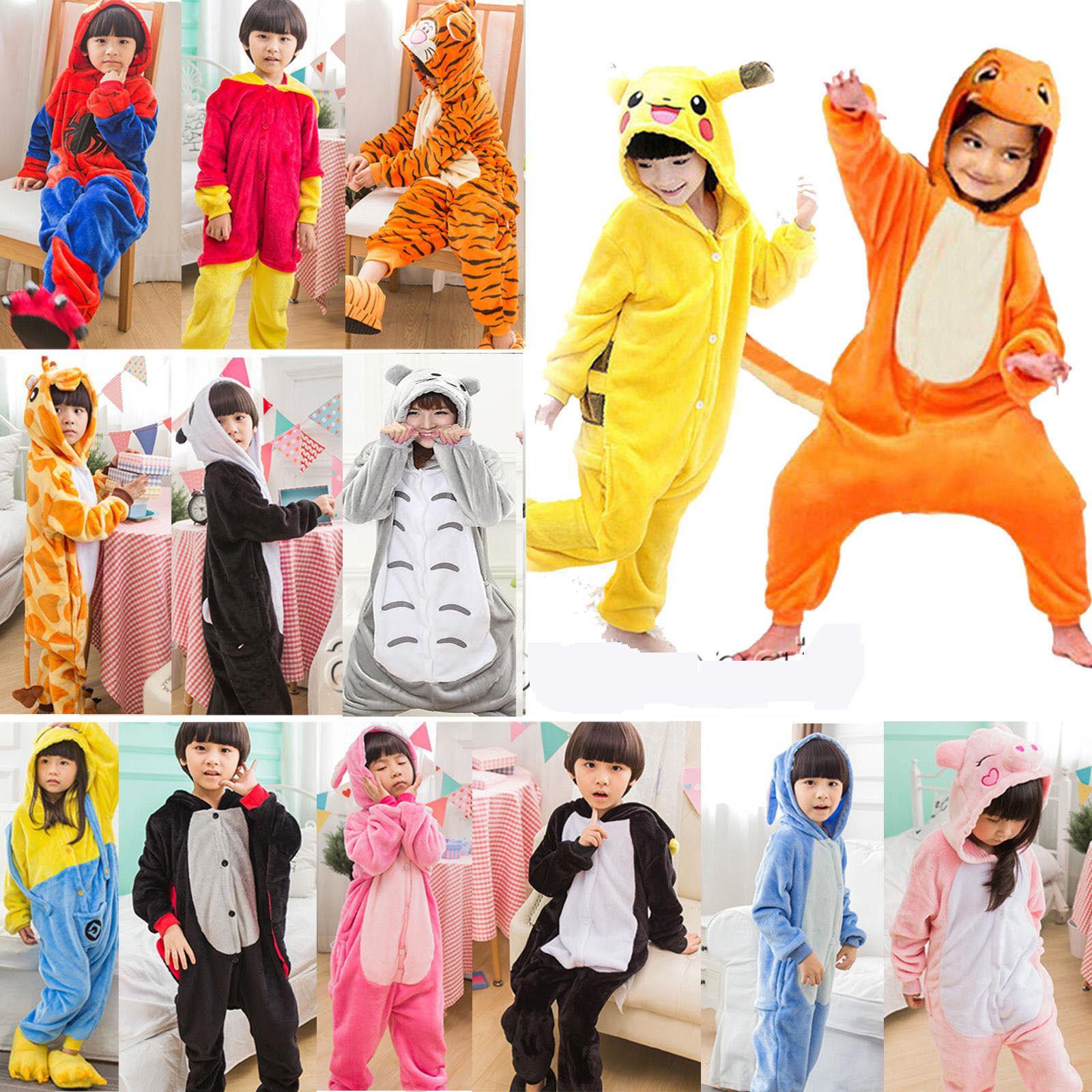 new animal kids girls kigurumi cosplay costume