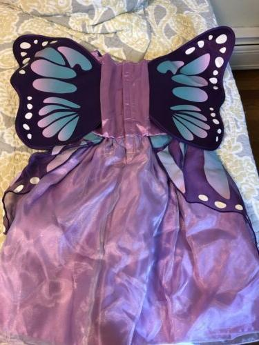 NEW Baby Toddler Koala Purple Butterfly Costume Dress Gown Months