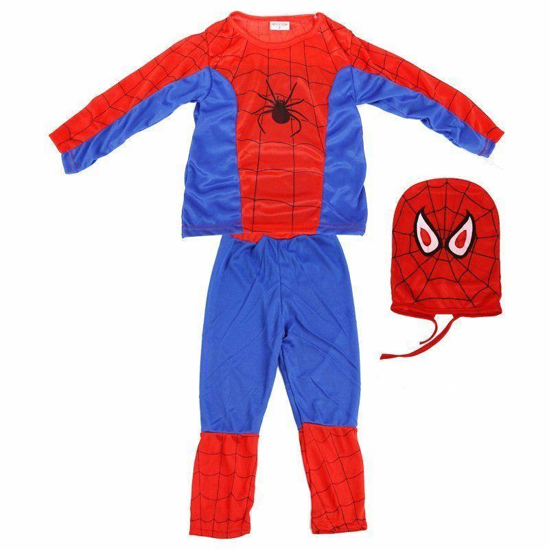 US Spiderman Fancy Dress Party Costume Kids sleepwear