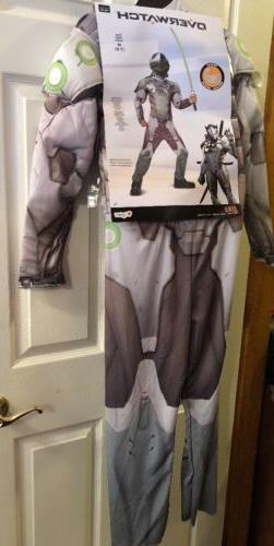 NEW Disguise Kids' Size Medium Overwatch Genji Classic Muscl