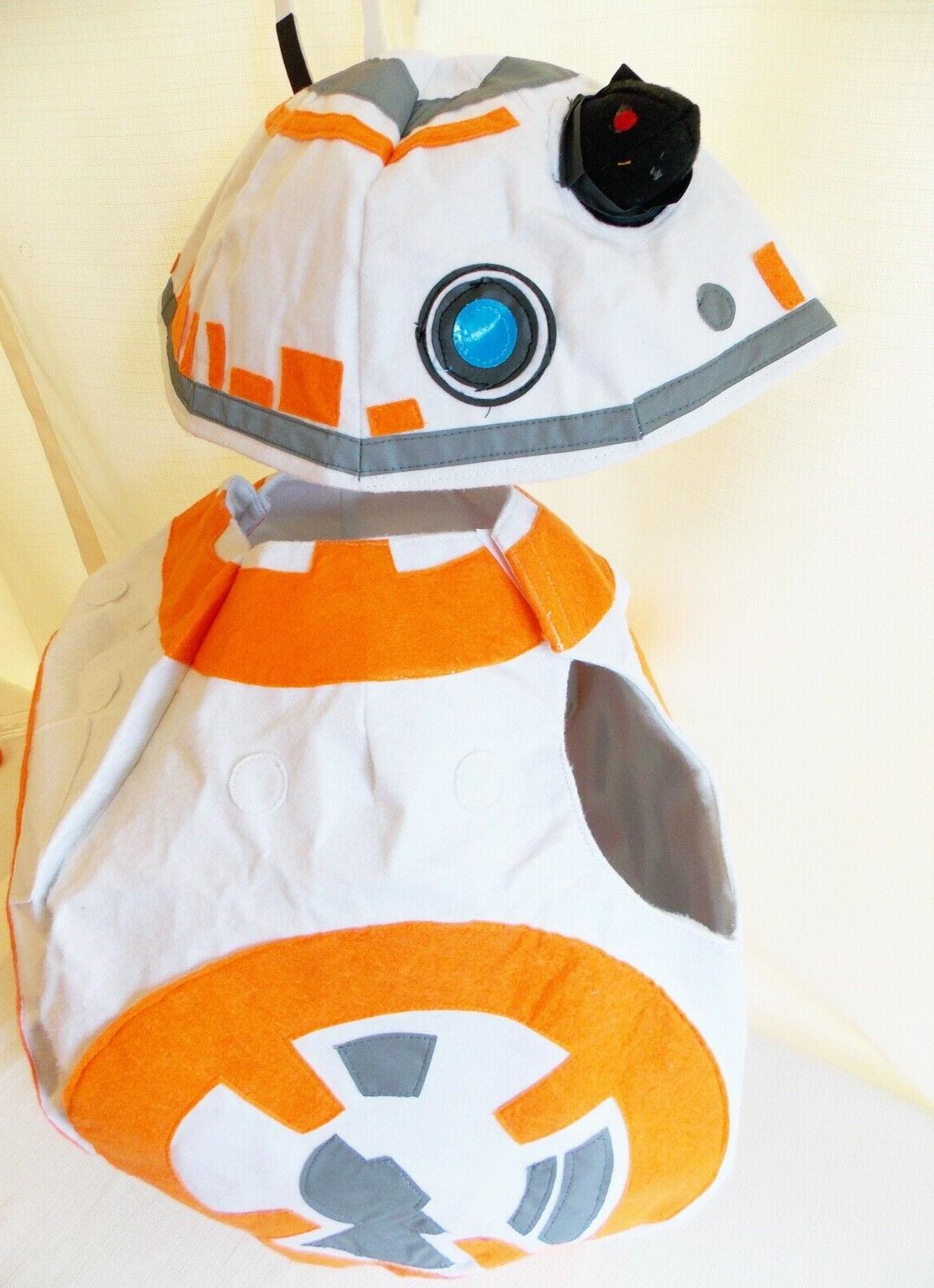 NEW Kids Star BB-8 Costume L Halloween Rey's