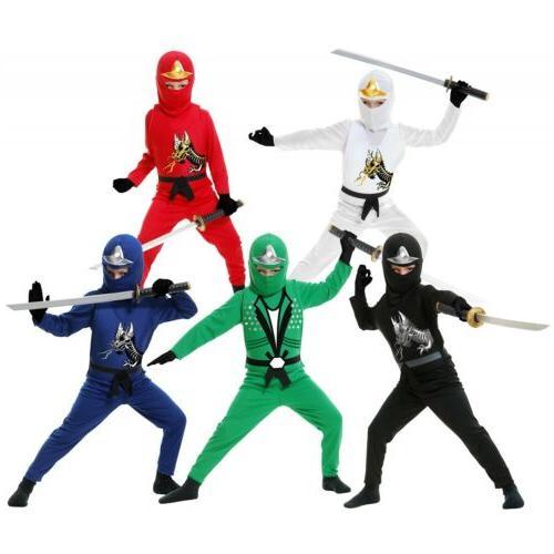 ninja costume kids ninjago halloween fancy dress