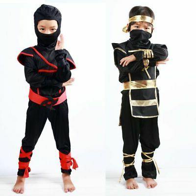 Ninja Ninjago Costume Boys Assassin Cosplay Carnival Party