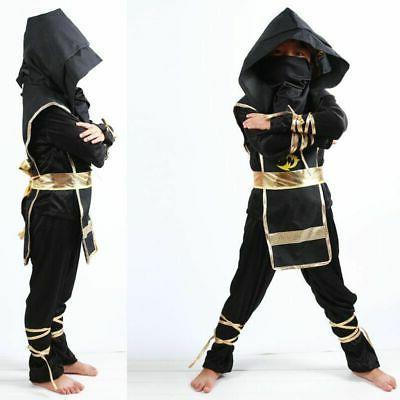 Ninja Ninjago Costume Boys Assassin Carnival Party Ninja
