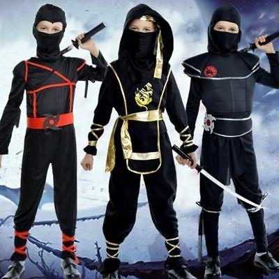 ninja ninjago costume kids boys assassin cosplay