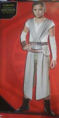 NWT Star Wars The Force Awakens Child Costume Rey Disney Sz