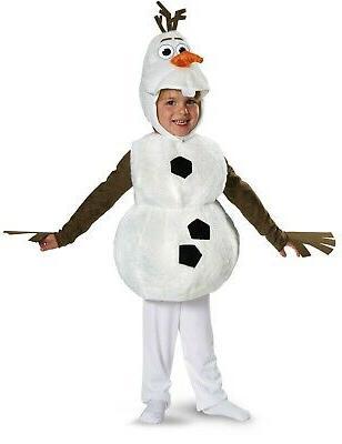 olaf disney frozen child deluxe plush snowman