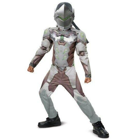 overwatch genji muscle kids costumes size m