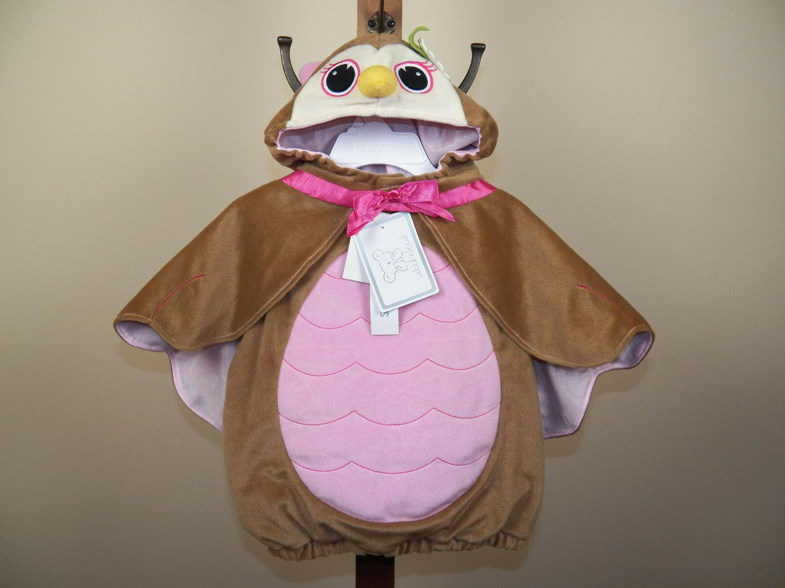 Koala Kids Owl Halloween Costume Bird Dress Up Size 3/6M, 6/