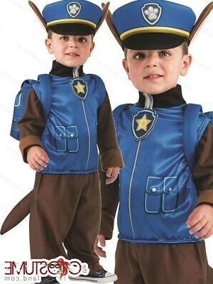 paw patrol chase boys costume kids toddler