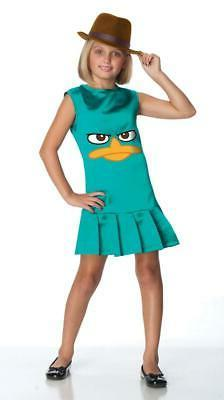 Phineas and Ferb Sassy Agent P. Girls Costume size medium 8-