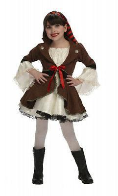 Just Pretend Kids Pirate Princess Costume, Large. Huge Savin