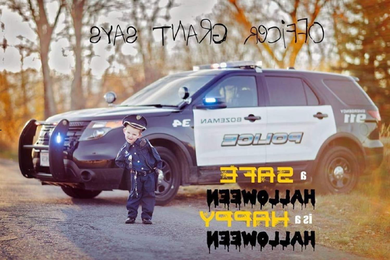 Police Halloween Cosplay Realistic Set