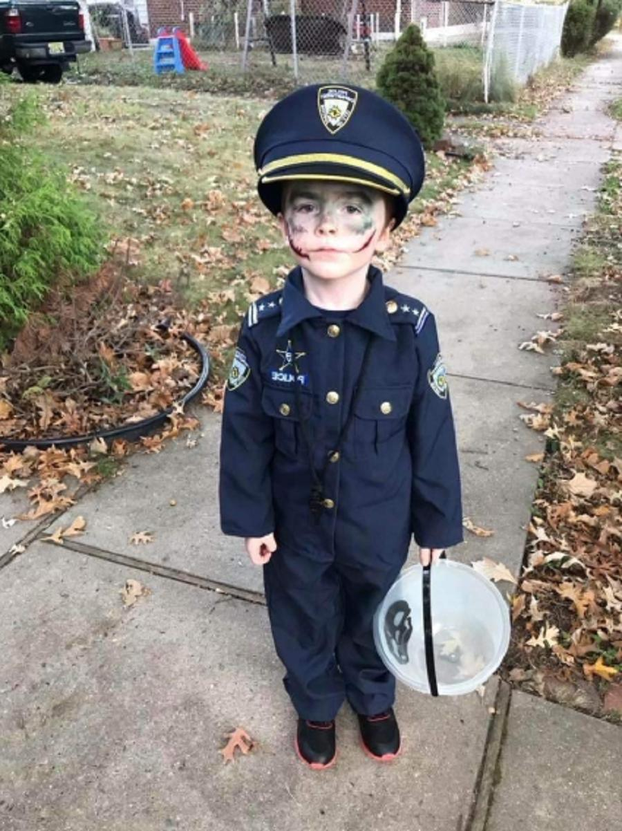 Police Halloween Cosplay Realistic