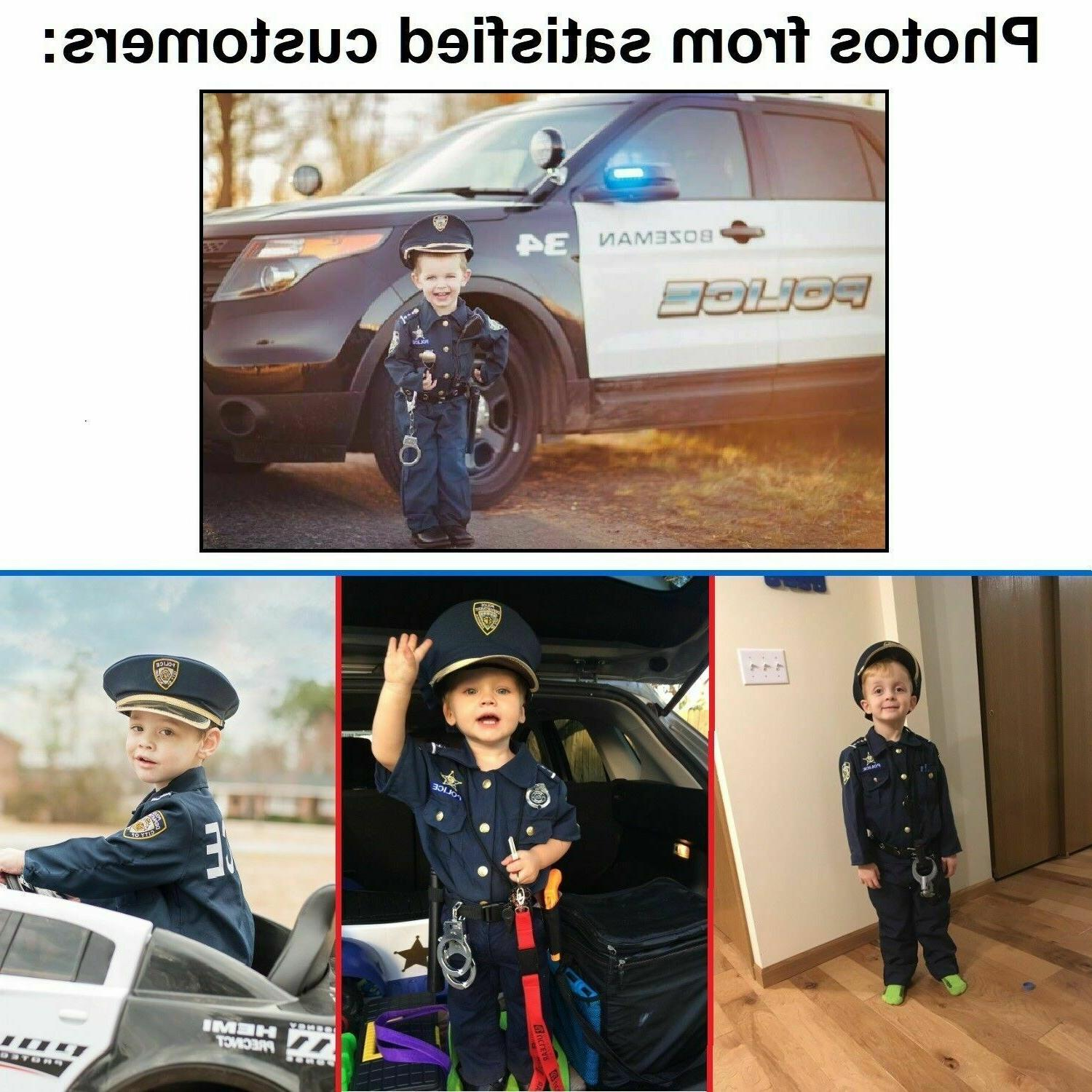 Police Halloween Outfit Set for