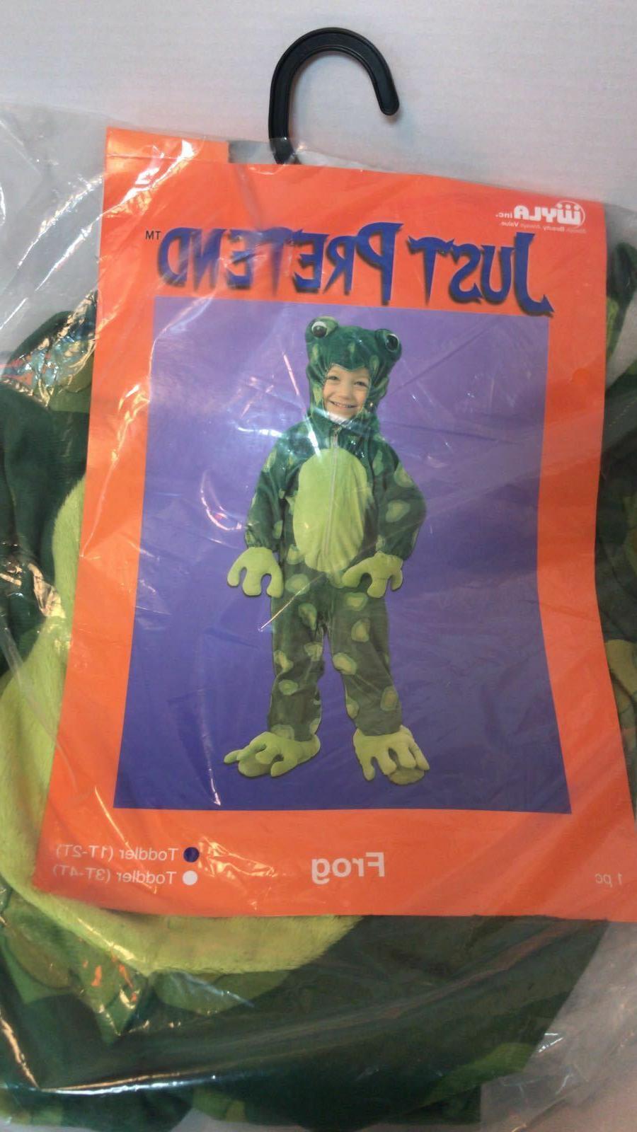 Just Pretend Kids Frog Animal Costume,