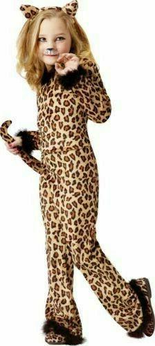 Fun World Pretty Leopard Cats Animals Childrens Kids Hallowe