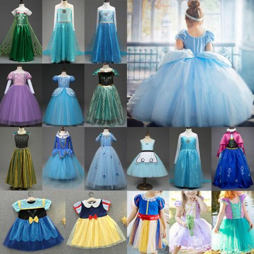 Girls' Clothing Cinderella Costume Dress Up Fairytale